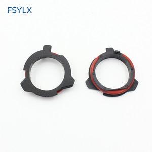 Image 4 - Fsylx 50pc farol do carro clipe retentor adaptador titular para bmw série 5 e12 e28 e34 e39 e60 e61 f10 f11 led farol h7 adaptadores