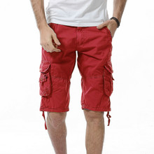 Mens Clothes Military Cargo Shorts Brand Men Camouflage Cotton Tactical Casual Short Pants Bermuda Masculina
