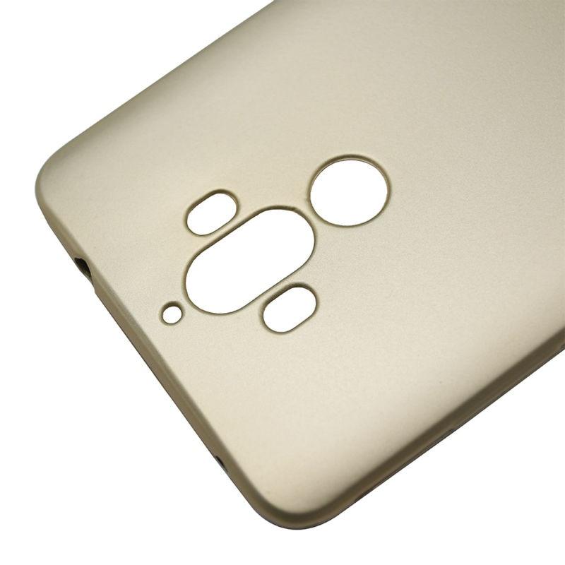 Huawei Mate 9 Kasus Simple Metallic Finish Lembut Silicone Ponsel - Aksesori dan suku cadang ponsel - Foto 4