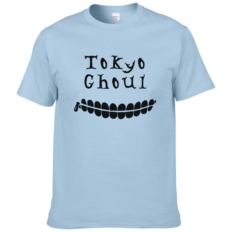 2018 Anime Tokyo Ghoul T Hemd Männer Kurzarm T-shirt LLL