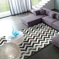 Turquia grand tapete simples americano sala de estar sofá quarto moderndesigner ondulado mat non slip mat tapete lavável na máquina