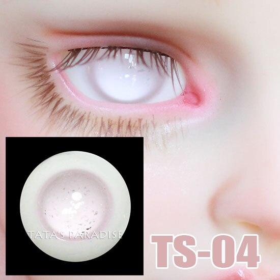 14mm 16mm light no pupil BJD Eyes Eyeballs for 1 3 1 4 1 6 BJD