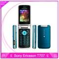 Original sony ericsson t707 t707 desbloqueado los teléfonos móviles 3g 3.2mp cámara bluetooth reproductor de mp3 un año de garantía
