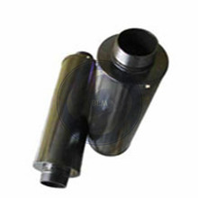 2inch  100% stainless steel silencer for 2RB510/2RB610/2RB630/2RB710 blower pump