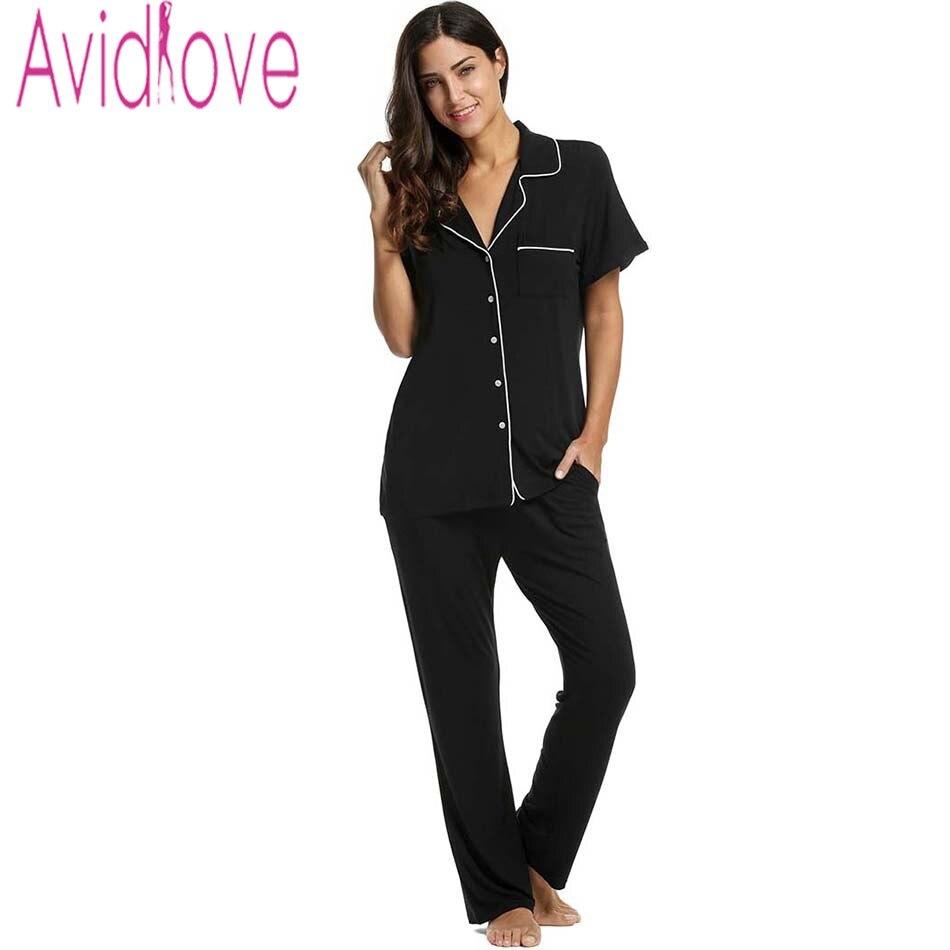 Avidlove Stylish Women Cotton Pajama Sleep & Lounge