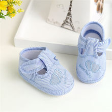 Kids Baby Toddler Shoes Newborn Girl Boy Soft Sole Crib Toddler Shoes Canvas Sneaker Kid Baby Toddler Shoes(China)