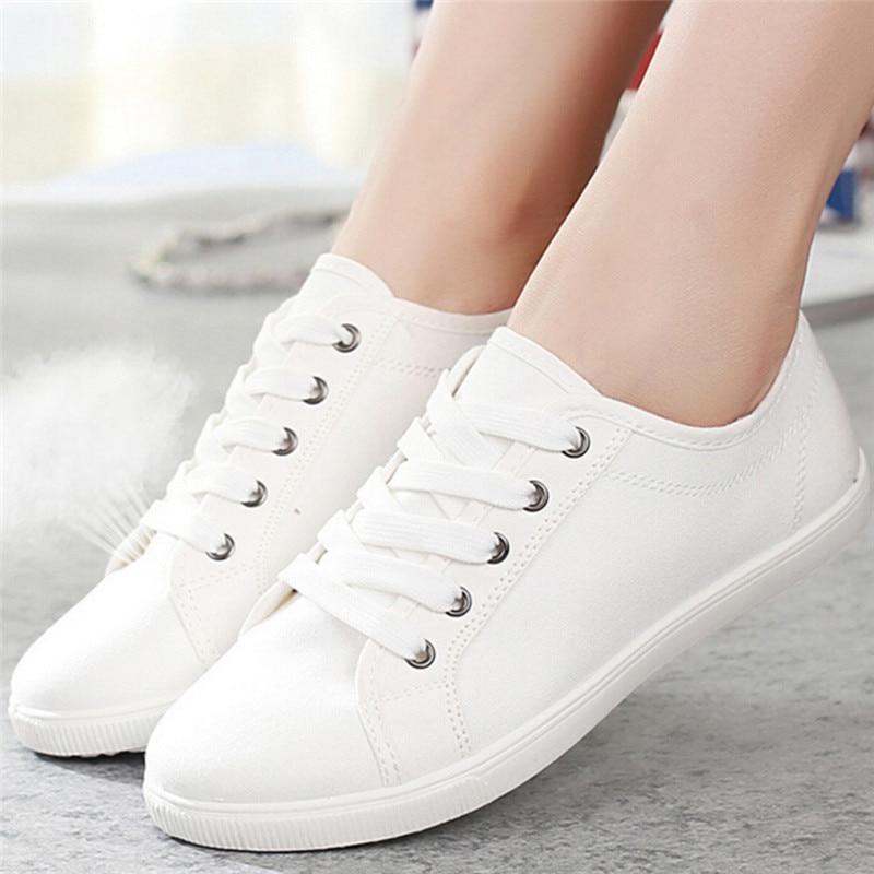 Zapatos blancos casual para mujer izEVl3Mv