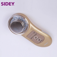 SIDEY Home Beauty Device Led Light Therapy Ultrasonic Skin Care Device For Improve Skin Clarity