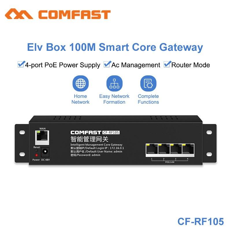 2019 Comfast CF-RF105 Home AC Wifi Load Balancing Gateway Routing Core Gateway Multi Wan Wi Fi Roaming Access AC Router 650Mhz