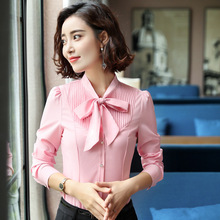 IZICFLY New Style Ladies blusas mujer de moda 2019 white blouse women top Slim pink roupas feminina Office Shirt plus size 4XL