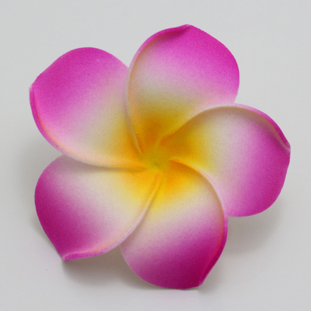 50pcs big 6cm plumeria hawaiian foam frangipani flower artificial 50pcs big 6cm plumeria hawaiian foam frangipani flower artificial silk fake egg flower for wedding party mightylinksfo