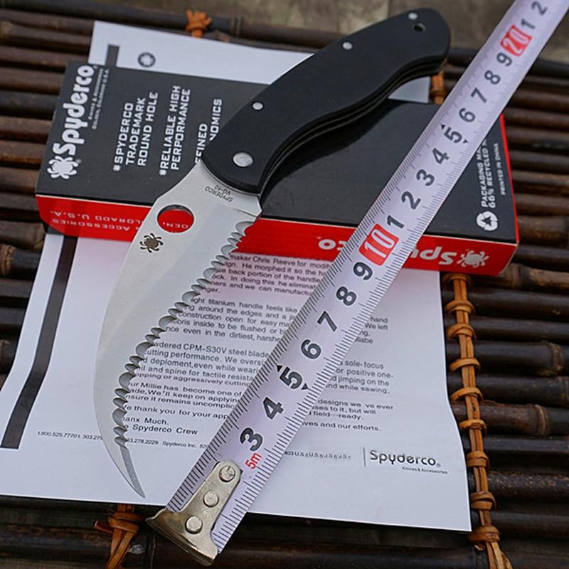 Hot selling VG 10 Blade material G10 handle folding font b knife b font camping Hunting