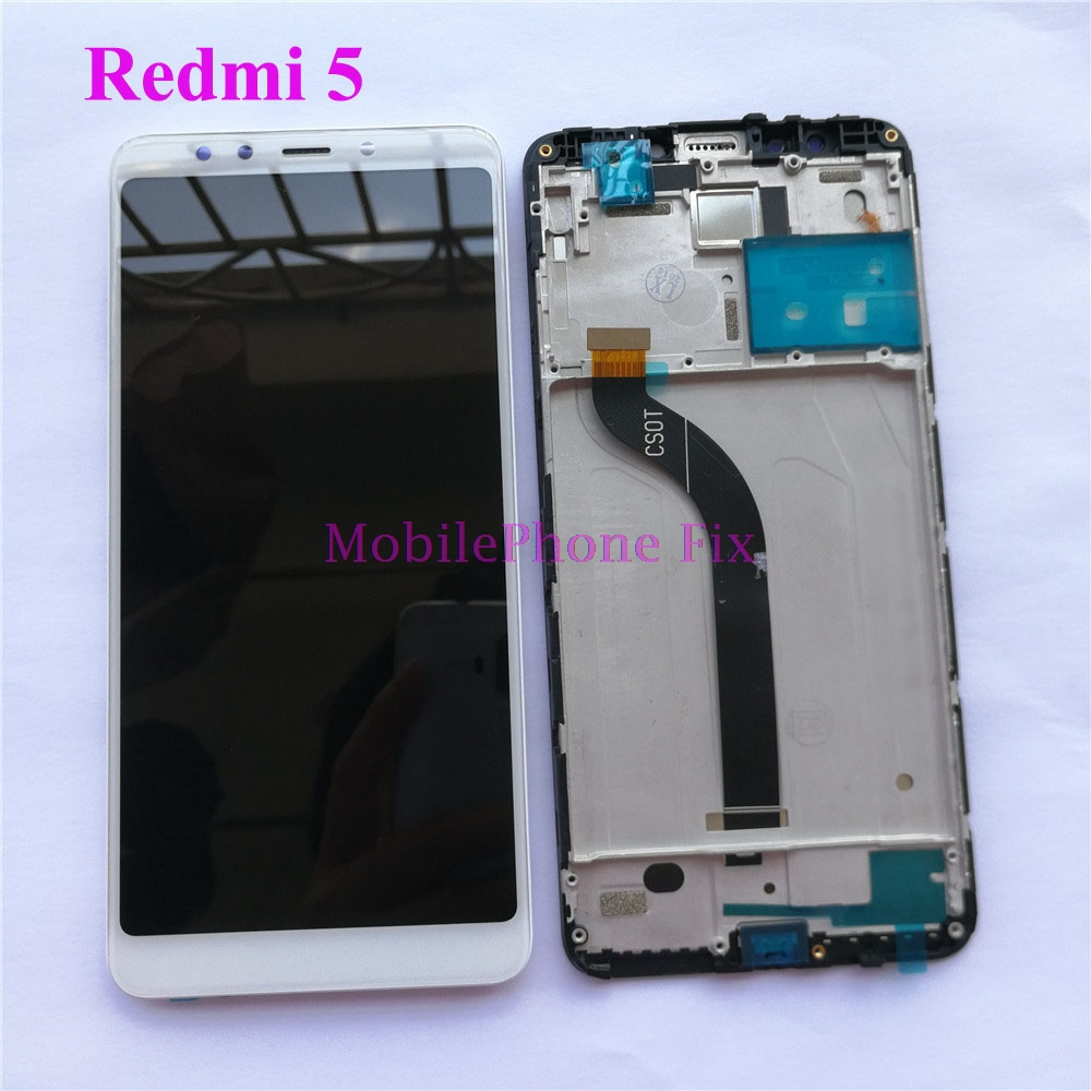 10 Point Touch LCD Display Touch Screen Digitizer Assembly For Xiaomi Redmi 5 Redmi5 Tested With LCD Frame Replacement Parts10 Point Touch LCD Display Touch Screen Digitizer Assembly For Xiaomi Redmi 5 Redmi5 Tested With LCD Frame Replacement Parts