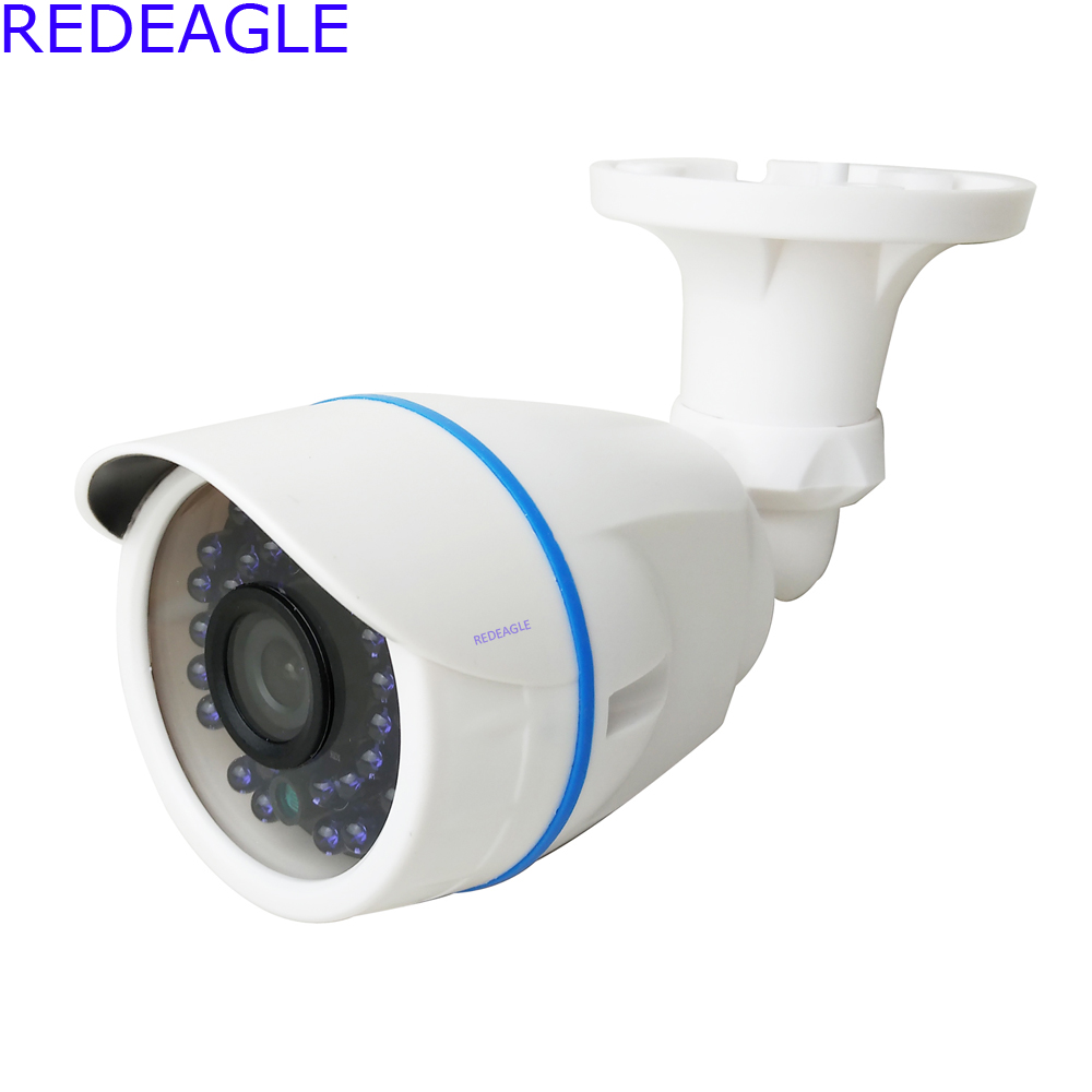 REDEAGLE 1MP 720P AHD Security Camera with HD 2MP 3.6mm Lens 36 IR Night Vision Outdoor Bullet Security Cameras For CCTV AHD DVR 720p ahd camera bullet cctv outdoor security 36ir night vision hd analog bnc for ahd dvr