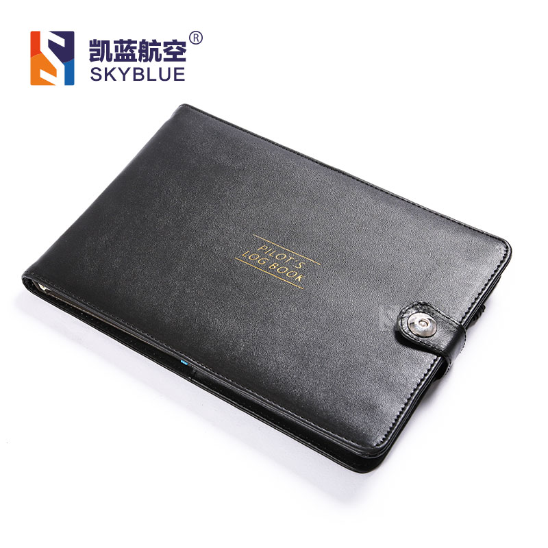 New Cover for Pilot's Log Book Black Protect Case of Aviator Record Book, Holder PU Leather Simple Fashion Gift bookfactory® box scores log book 120 page 8 5x11 hardbound xlog 120 7cs a l main box scores log book