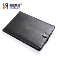 New Cover For Pilot S Log Book Black Protect Case Of Aviator Record Book Holder PU