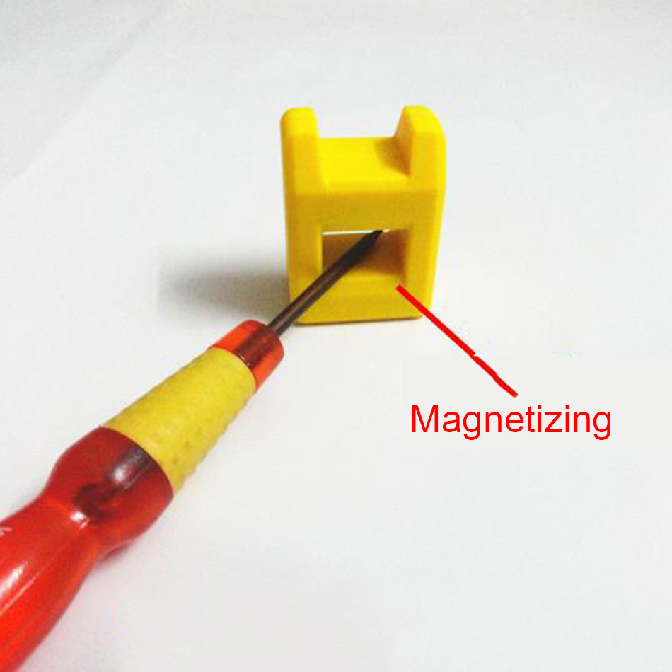 1 Piece Magnetizer Demagnetizer Tool Screwdriver Magnetic Pick Up Tool Multicolor in Tool Parts from Tools
