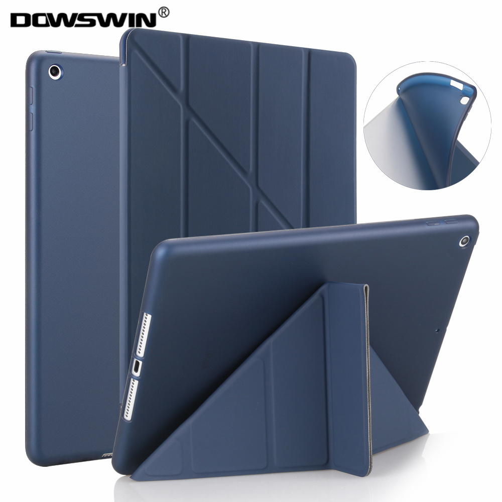 for new ipad 9.7 2017 2018 case tpu silicone soft case for ipad pro 9.7 smart back cover for ipad 2018 case 9.7 inch image