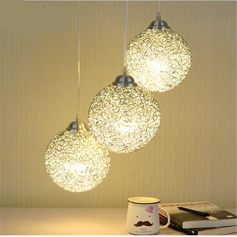 modern aluminum 1/3 heads pendant lamps office cafe bar study creative personality restaurant pendant light ZA10 modern contemporary creative personality retro art glass pendant lamps cafe restaurant study lamps milan pendant lights 1 piece