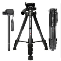Professional Universal Portable Travel Aluminium Camera Tripod for Smartphone Canon Dslr Camera Extendable Selfie Stand Tripod