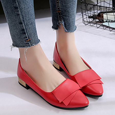 women flats loafers leather women shoes platform shoes casual office lady korean slip-on pointe shoes spring soft scarpe donna spring summer flock women flats shoes female round toe casual shoes lady slip on loafers shoes plus size 40 41 42 43 gh8