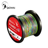 QUIANTU Brand 8 Strands PE Braided Fishing Line 500M 550Yards 20LB 108LB Fishing Multifilament Super Strong