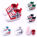 Baby Shoes Wholesale Spring And Autumn The New M - Word Flag Lace Before The Baby Shoes Toddler Shoes Baby Shoes NA1176