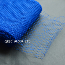Королевский синий лучшее качество 9 ''birdcage veiling материал для головной убор Sinamay Свадебный вуалет