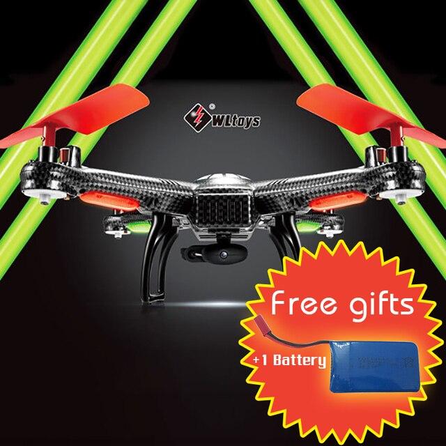 WLtoys V686G V686 5.8G FPV Headless Mode 4CH Drone DV686 DV686G RC Quadcopter With HD Camera Monitor Boys Toy Gift