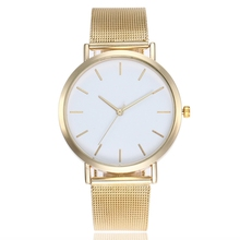 2019 Luxury Womens Watch Gold Sliver Casual women Clock Round Dial Ladies Wrist luxury gifts for girls Relogio Feminino