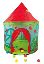 New Cartoon Princess Castle Kids Tents Funny Can Shooting Play House For Children Game Tent Kids Teepee Tents D419
