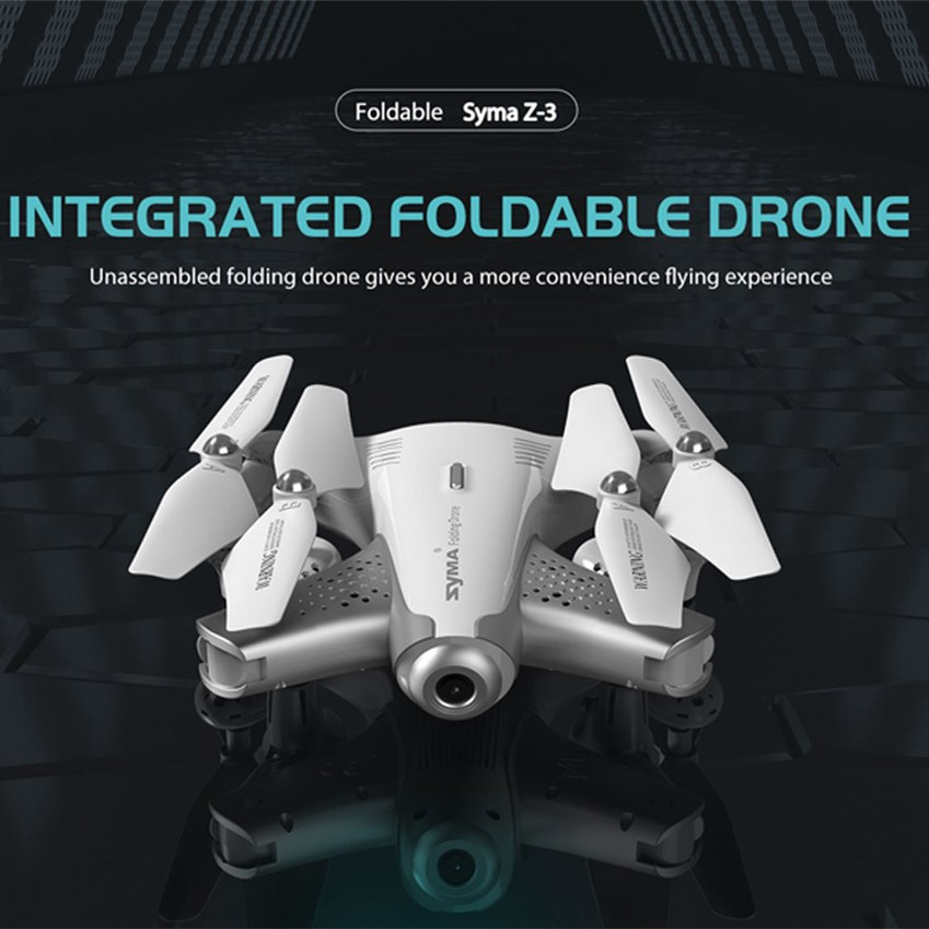 купить Syma Z3 Smart Foldable FPV RC Quadcopter Optical Flow Drone With HD Wifi Camera Real-time Altitude Hold Flow Hover Headless Mode по цене 3195.2 рублей