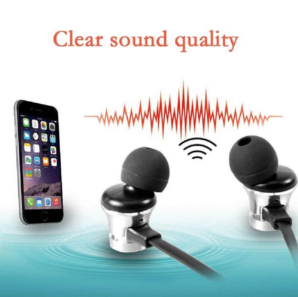 XT-11 bezprzewodowe słuchawki sportowe słuchawki Bluetooth z pałąkiem na kark ponownie przycisk sterowania zestaw słuchawkowy bluetooth słuchawki douszne magnetyczne słuchawki PK S6