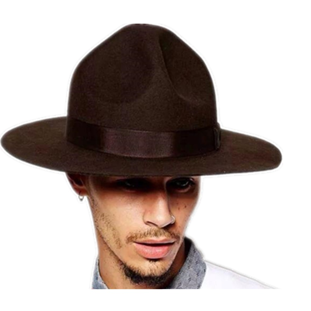 Wool Motana Mountain Campaign Mountie Cowboy Hats-in Fedoras from Apparel  Accessories on Aliexpress.com  e1512e33145