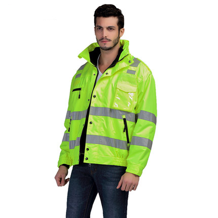 Security & Protection Romantic Sfvest En471 Hi Vis Vest Safety Vest With Logo Printing Workwear Safety Jacket Free Shipping Safety Clothing