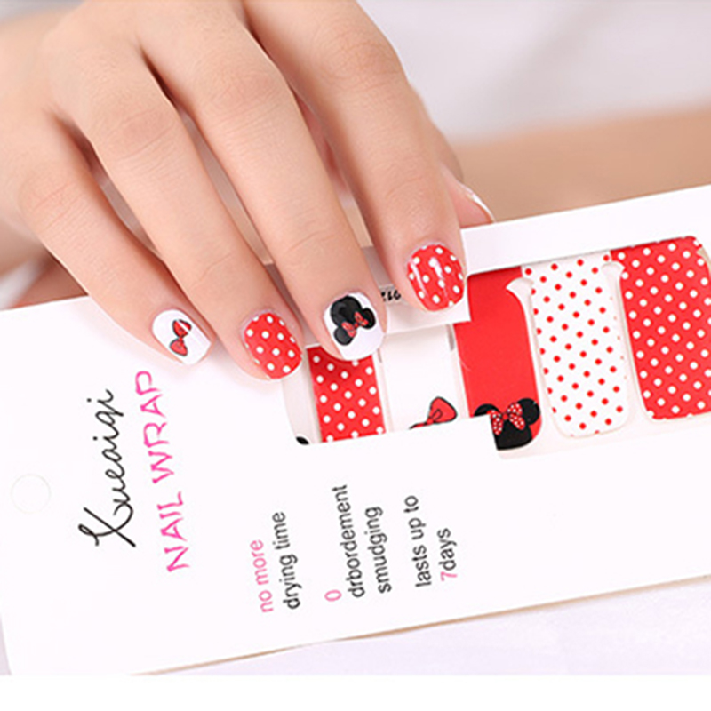 16 Sticker/Lot Water Transfer Manicure Full Tips Nails Cover Stickers Decals Set DIY Decoration Nail Art Accessories Calcomanias 233 style new 8 pcs lot flower nail decals leopard nail art transfer foil sticker tips decoration christmas snow nails
