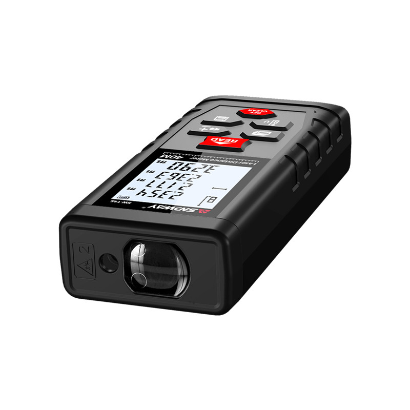 SNDWAY Laser Distance Meter 40-120M with LCD and Auto Power Off to Measure Wide Range Area 21