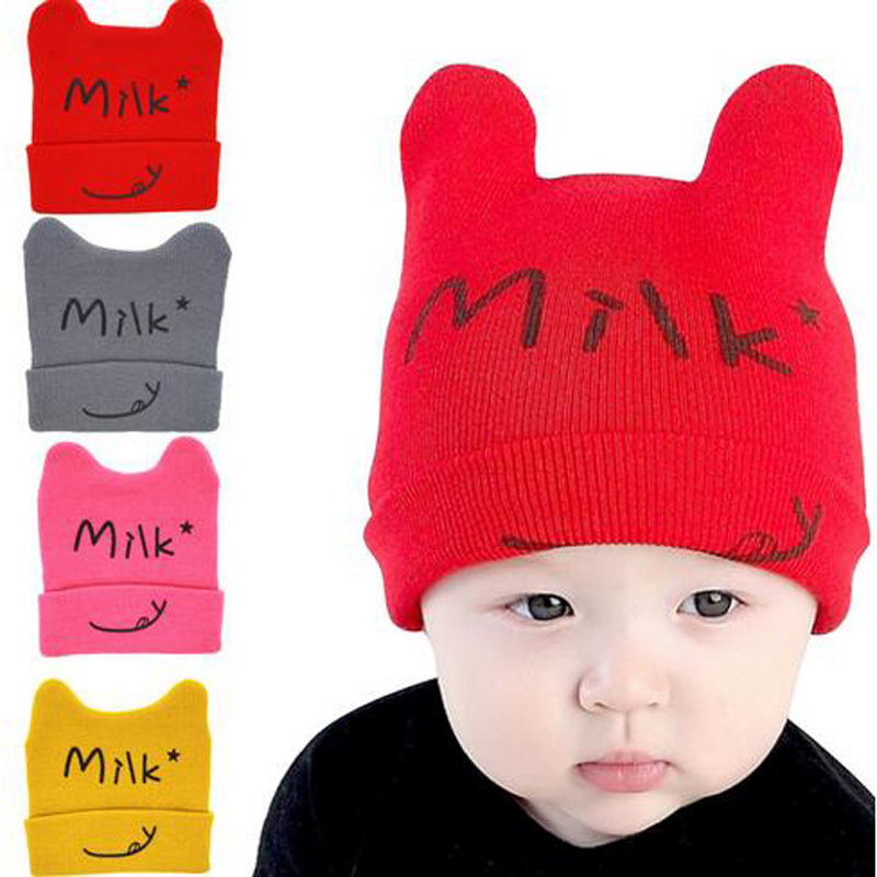 3Pcs/Set Baby Hat 1-36 Months Newborn Caps Variety Kinds For Baby Spring Autumnr Wear Boys Girls Toddler Infant Kids Hats