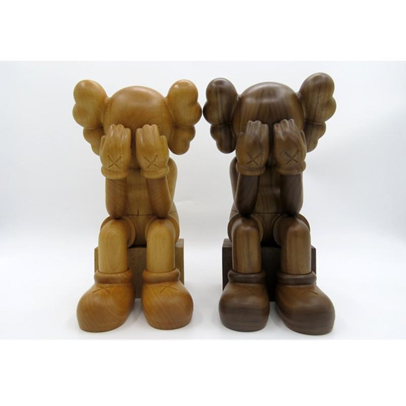 Modelo M526 de colección de figuras de acción de madera de arte callejero de 28 CM