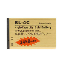 1PCS High Capacity 2450mAh BL-4C Replacement Li-ion Battery For Nokia 5100 6100 6300 6600 7270 Phone
