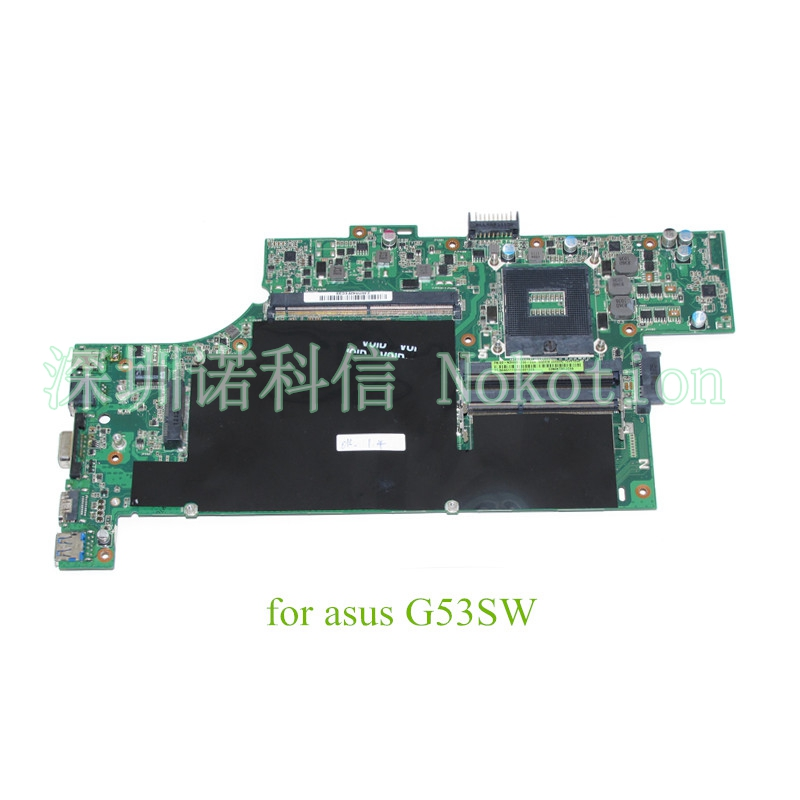 60-N3HMB1200-C09 for ASUS G53SW MAIN BOARD REV 2.0 69N0KTM12C09 HM65 DDR3 With graphics slot warranty 60 days
