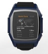 Hombres deportes de ritmo cardíaco reloj inteligente de smart watch gt68 smart sim gps rastreador de actividad reloj brújula al aire libre para el teléfono android