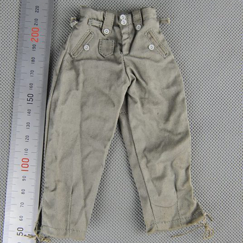 1:6 Soldiers Parts Veyron DML World War II German General Combat Pants Trousers Fit 12 Phicen HT Toys Dolls Action Figure
