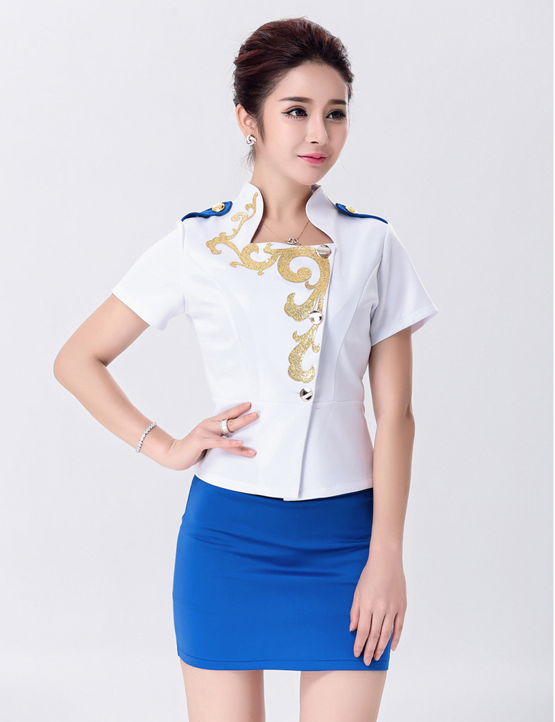 MOONIGHT Sexy Cosplay Uniform Erotic Airline Stewardess Costume Set Women Halloween Air Hostess Bodycon Costume Top+Skirt