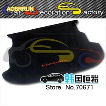 AOSRRUN Import gewijd kofferbak mat staart doos Voor Ssangyong 2014 2015 auto styling auto-onderdelen Auto-accessoires covers