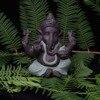 Ceramic Buddha Statues Purple sand Elephant God Figurines Home Decor Ganesha Mascot Decoration Flowerpot landscape Garden 6