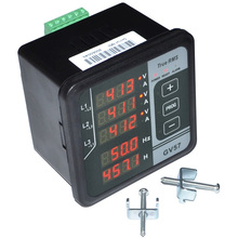 GV57 трехфазный генератор цифровой многофункциональный измеритель тока/напряжения/частоты тестер 12001846