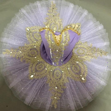 Расшитое блестками балетное детское платье-пачка Дети профессиональный балет женская одежда балерины Бальные балетные танцы платье наряды для девочек