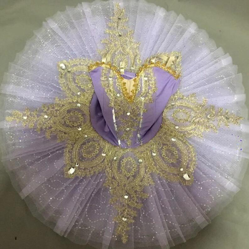 Sequined Ballet Tutu Dress Child Kids Professional Ballet Women Ballerina Outfits Ballroom Ballet Dancing Dress Outfits Girls