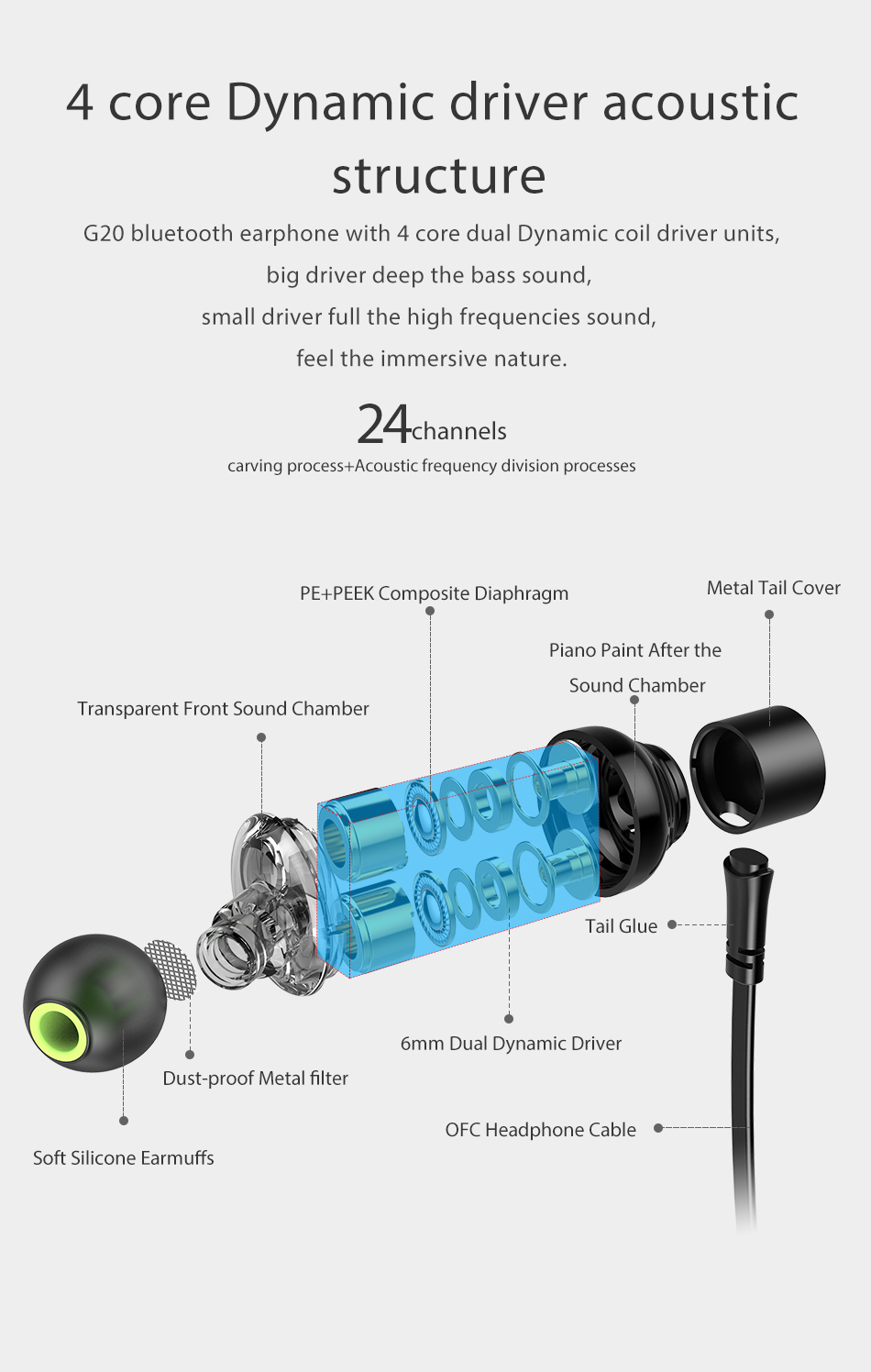 Awei G20BL bluetooth headset in bangladesh